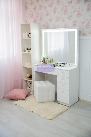Серия №2 100*80 белый , зеркало светодиодное 100*80