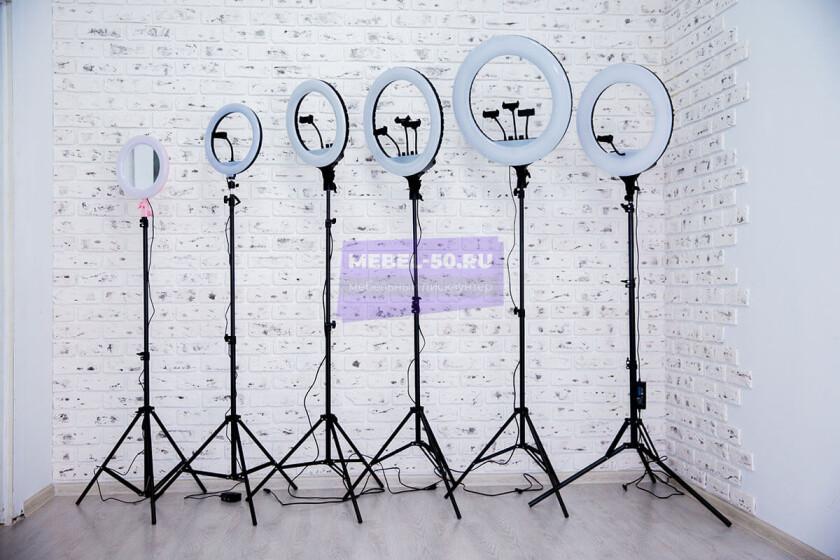 Кольцевая лампа 46 см  «7»