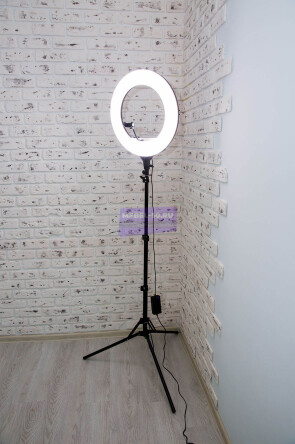 Кольцевая лампа 46 см