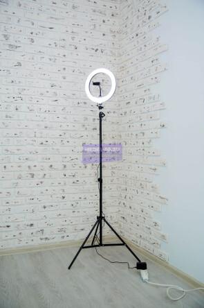 Кольцевая лампа 30 см