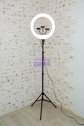 Кольцевая лампа 45 см