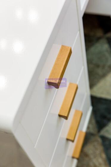 Стол письменный МДФ в пленке Высота 82 ширина 120 глубина 60, безрамное 80х80 фото 7