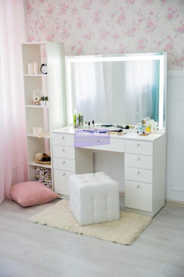 Серия №4 белый , зеркало светодиодное 120*80