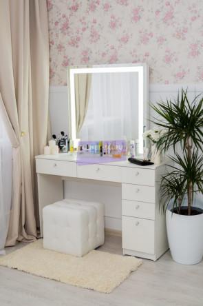 Серия № 2 -120 белый , зеркало светодиодное 80*80