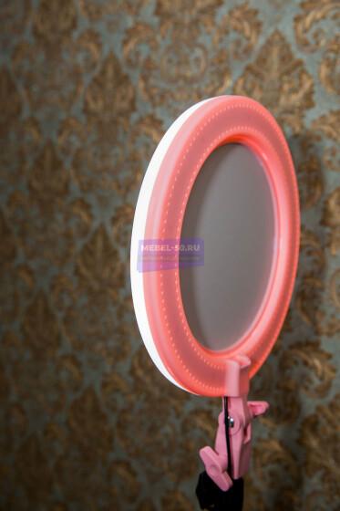 Кольцевая лампа с зеркалом 26 см  «1»