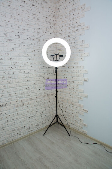 Кольцевая лампа 54 см  «8» фото 28